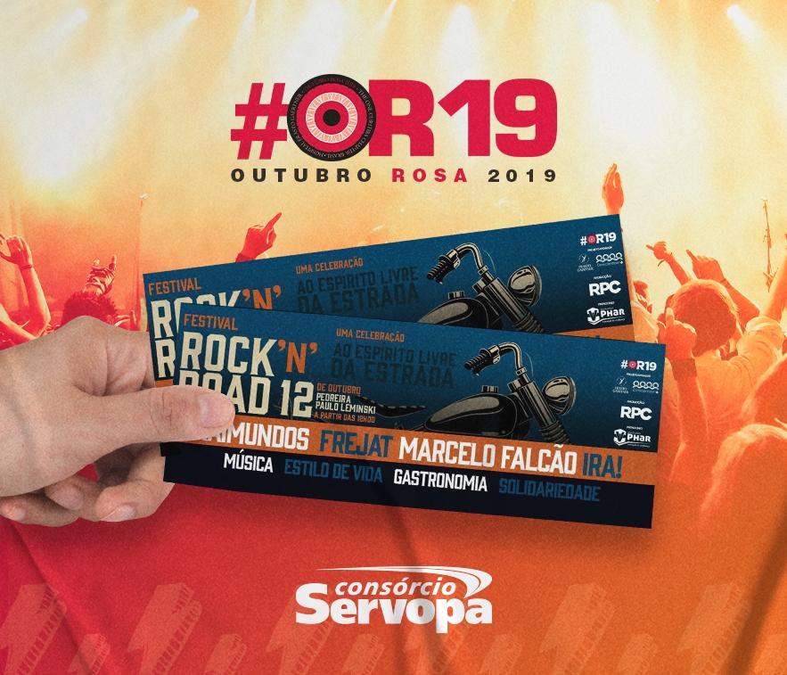 Consórcio Servopa incentiva o Festival Rock´n´Road Curitiba
