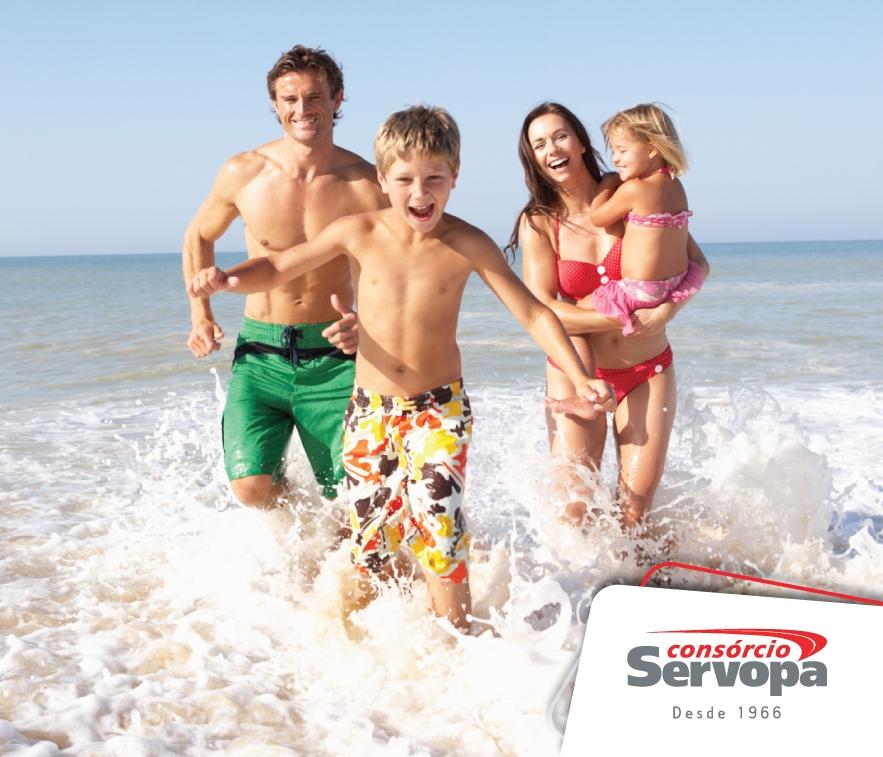 """Consórcio Imobiliário:  um """"trampolim"""" para a casa na praia!"""