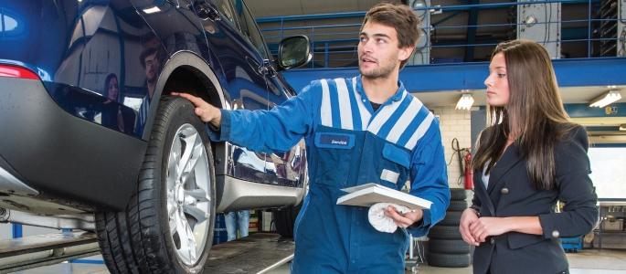 Manutenção periódica aumenta a vida útil do seu carro.